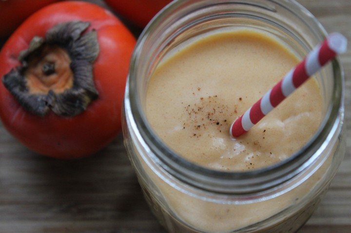 persimmon smoothie top