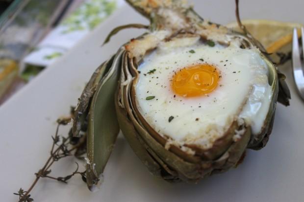 Artichoke Baked Egg Main