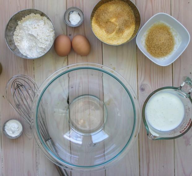 Homemade Cornbread Ingredients