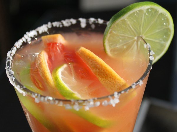 Roasted Grapefruit & Habanero Margarita Main