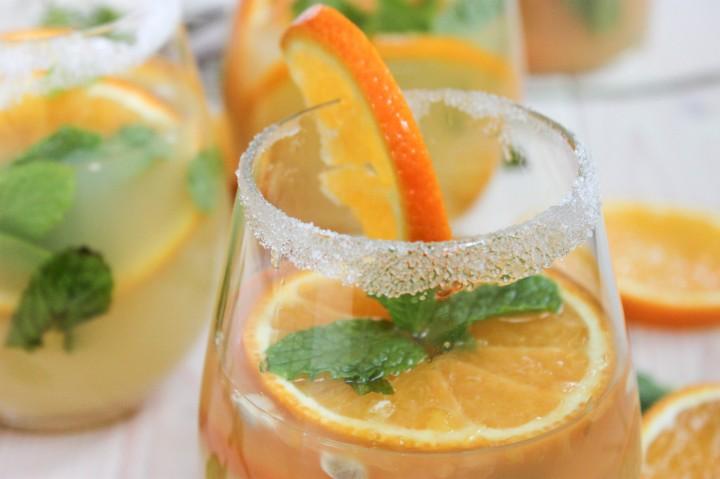 Tangerine Ginger Sake Sangria Main