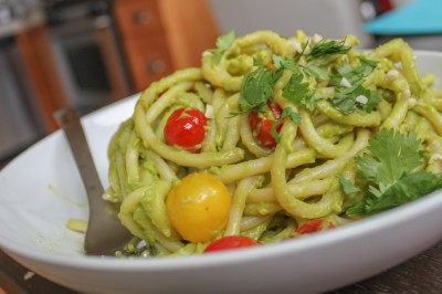 Creamy Avocado Pesto Recipe Main