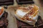 Gooey Valentine's Day Baked S'mores