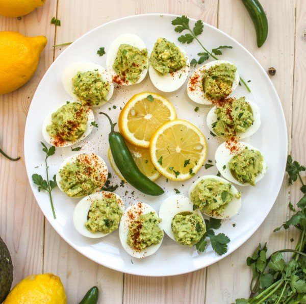 Guacamole Deviled Eggs Full