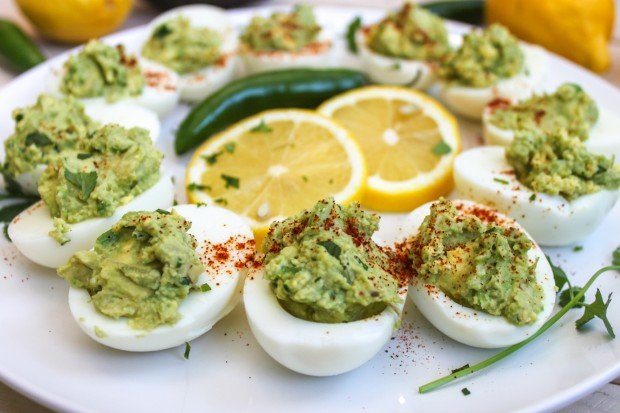 Guacamole Deviled Eggs Main
