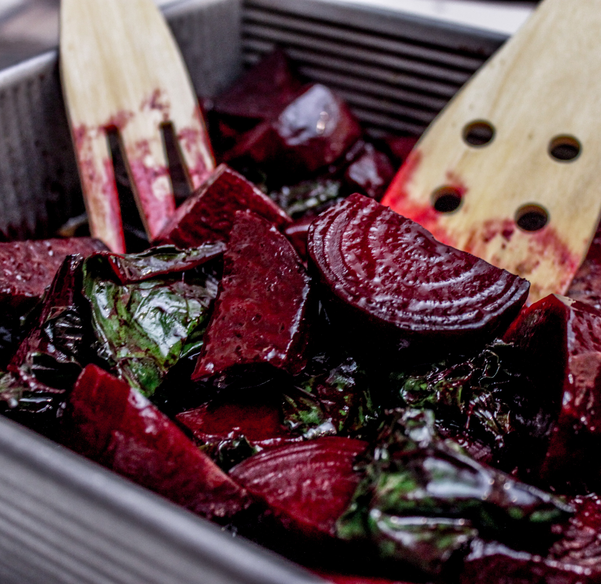 how to cook beet greens in the oven