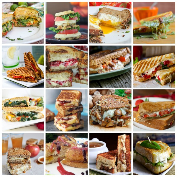 18 Vegetarian Grilled Cheese Sandwiches