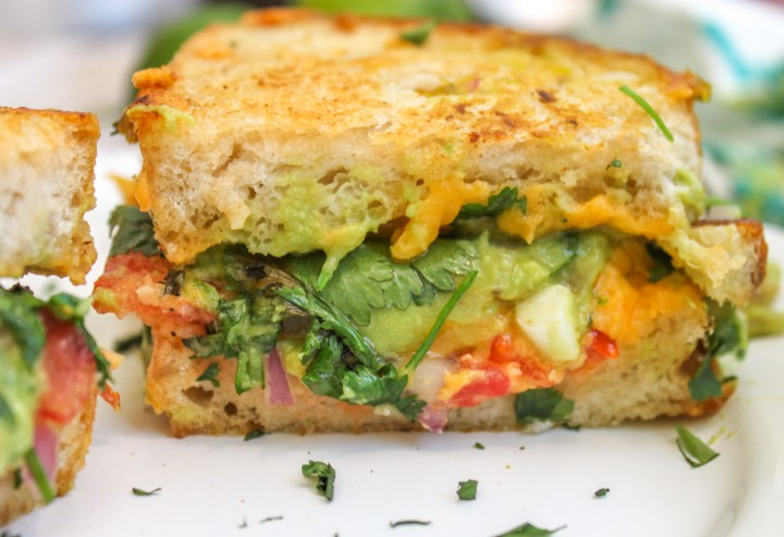 Guacamole Grilled Cheese Main