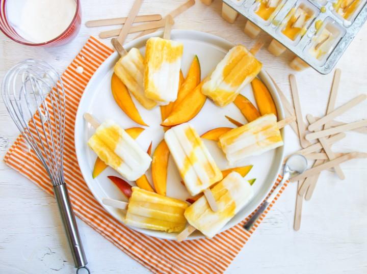 Mango Lassi Popsicles Main