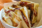PB & J French Toast Sandwich