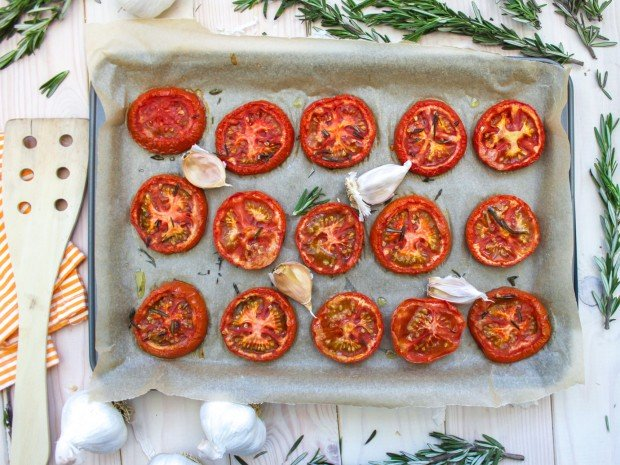 Roasted Tomatoes Main