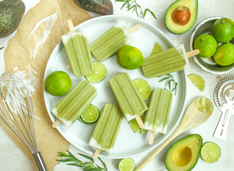 Tropical Avocado Popsicle