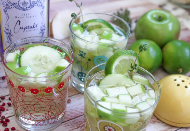 Cucumber Thyme Sangria