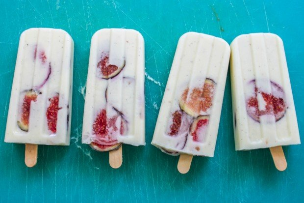 Vanilla Fig Popsicle