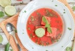 Spicy Watermelon Soup
