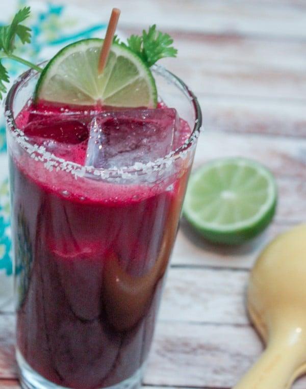 Beet & Cilantro Margarita