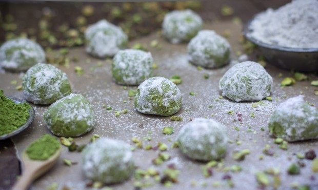 Russian Green Tea Cookies