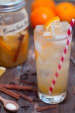 Orange Cinnamon Shrub Drinking Vinegar