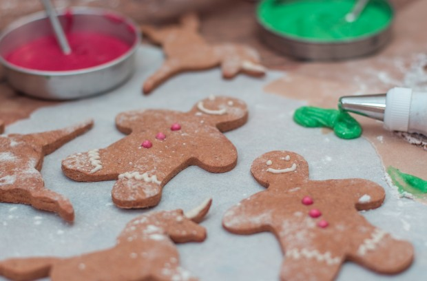 Sweet Potato Gingerbread Men Cookies-2