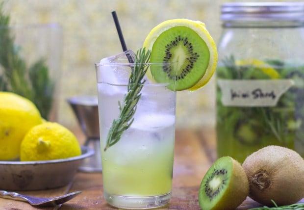 Kiwi Lemon Rosemary Shrub