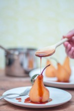 Roobios Red Tea Poached Pear