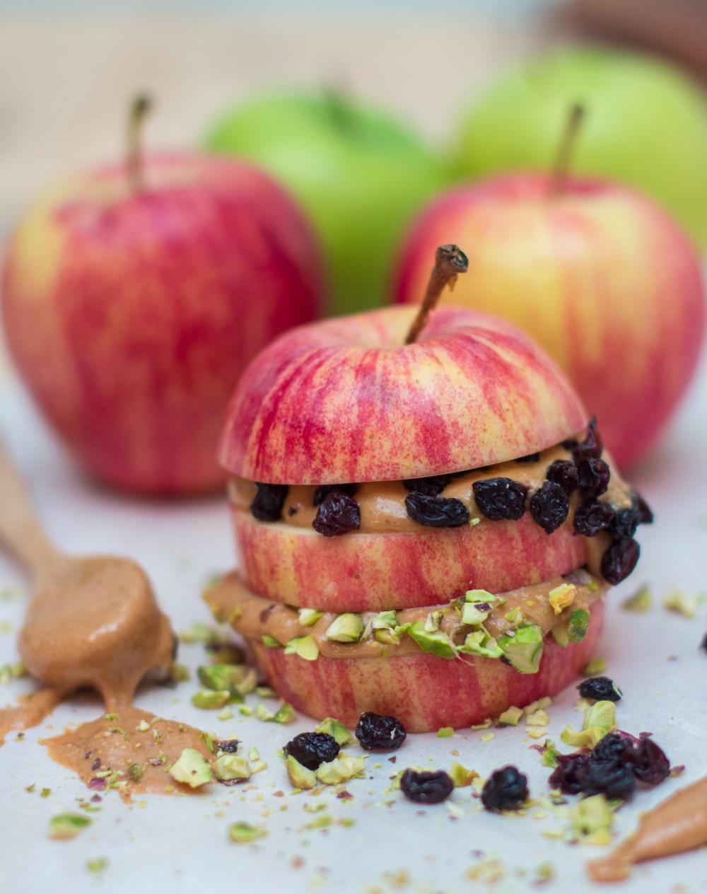 Apple Peanut Butter Sandwich - Jerry James Stone