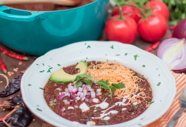 Quinoa & Coffee Chili