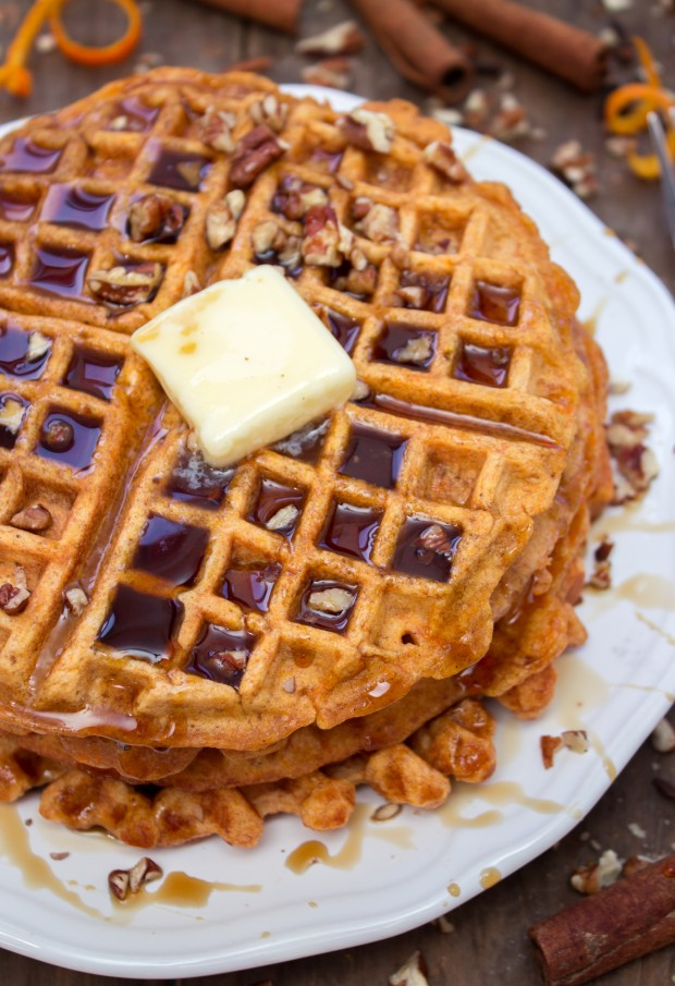 Sweet Potato Waffles - Jerry James Stone