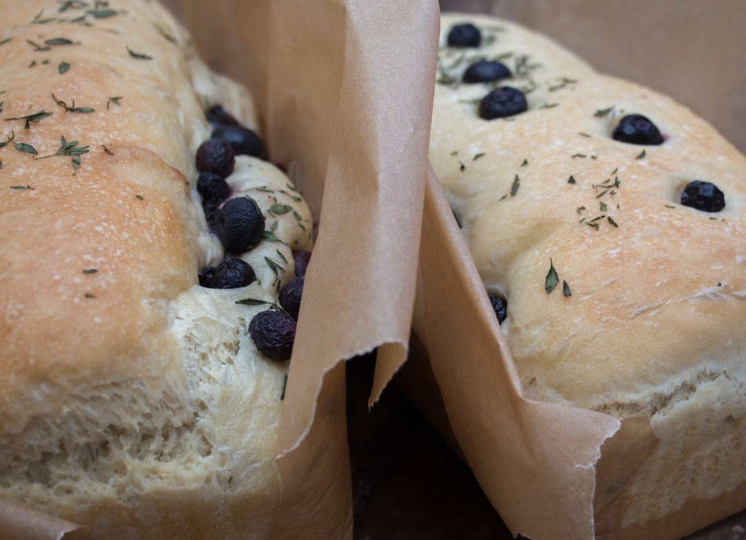 Blueberry Thyme Loaf