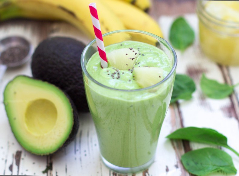 Avocado & Pineapple Smoothie