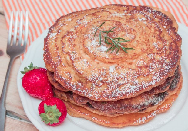 Butternut Squash & Ricotta Pancakes