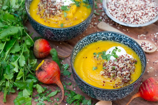 Golden Beet & Apple Soup