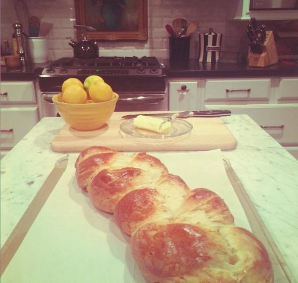 Orange Ginger Cardamom Bread