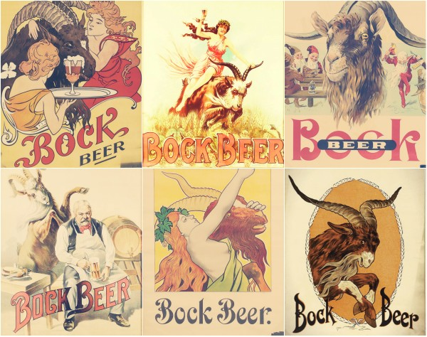 Bock Beer Posters