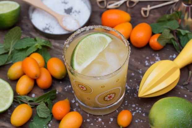 Kumquat & Mint Margarita