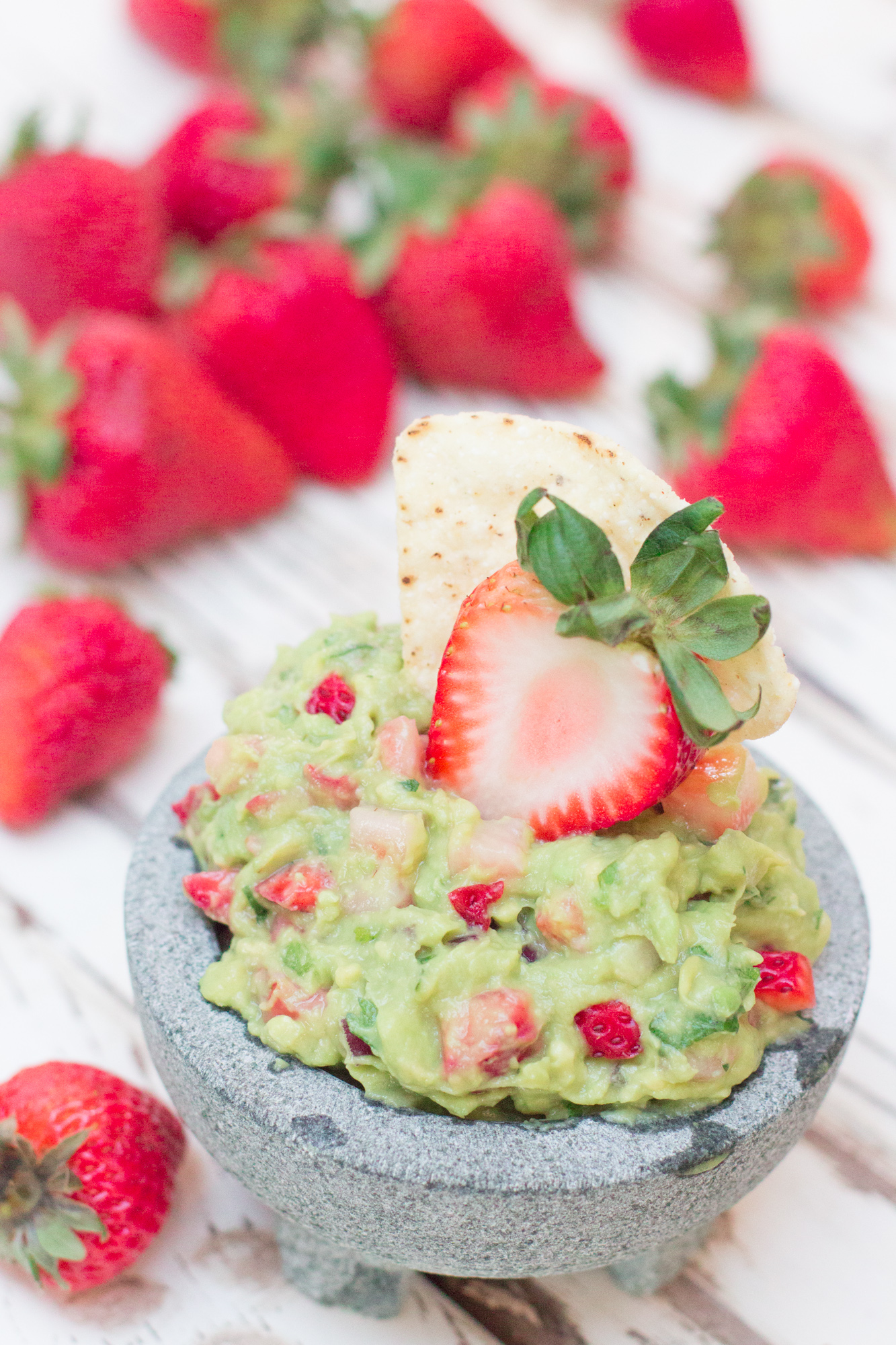 Strawberry Guacamole 1