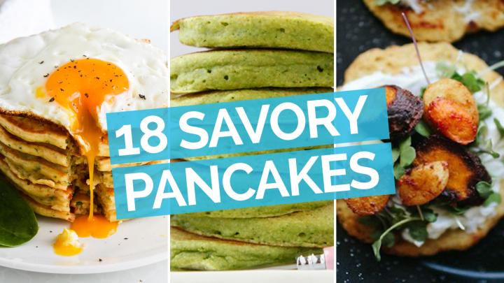 18 Savory Pancakes