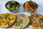 Uthappam (Indian Pancake)