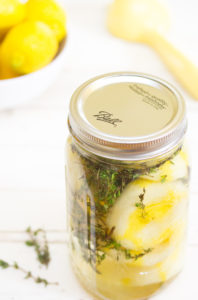 DIY Lemon Thyme Disinfectant 1