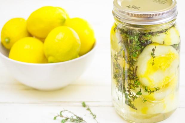 DIY Lemon Thyme Disinfectant