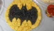 Batman Fruit Salad