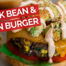 Black Bean & Corn Veggie Burger Recipe