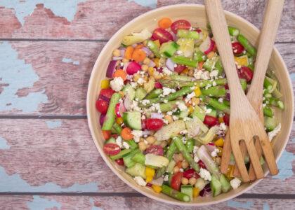 Asparagus Chopped Salad