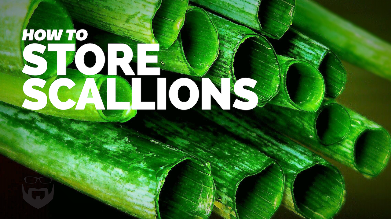 How to Store Scallions (Green Onions)