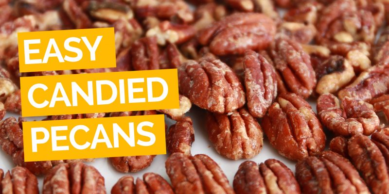 Easy Candied Pecans Video