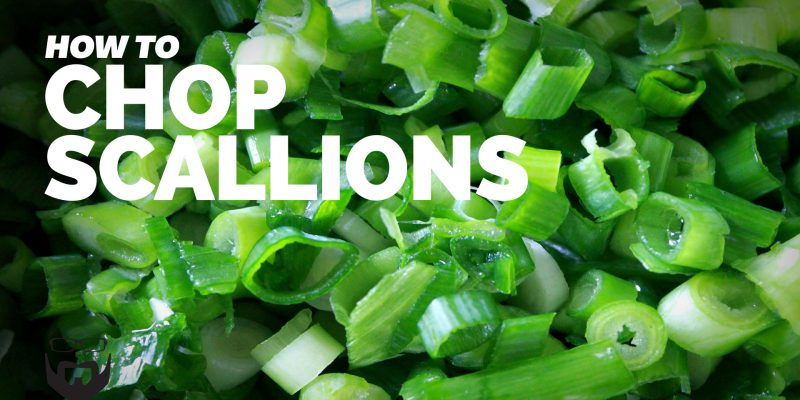 How to Chop Scallions (Green Onions) Video