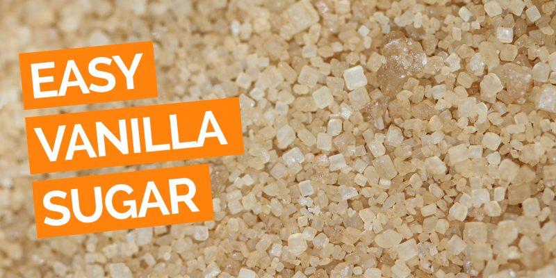 Easy Homemade Vanilla Sugar_YT