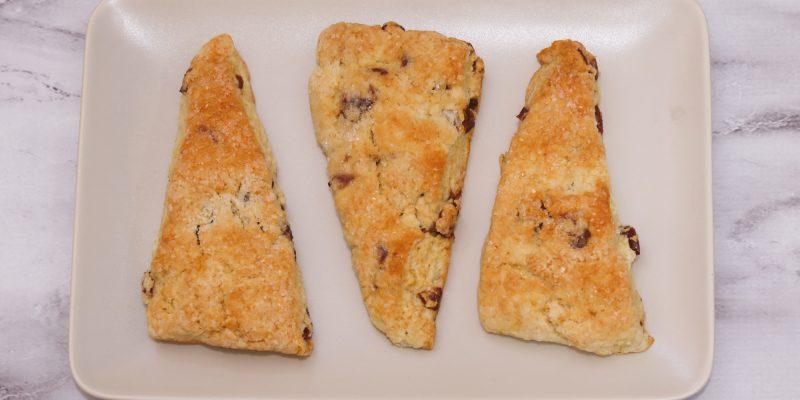 Cranberry & Tangerine Buttermilk Scone Recipe