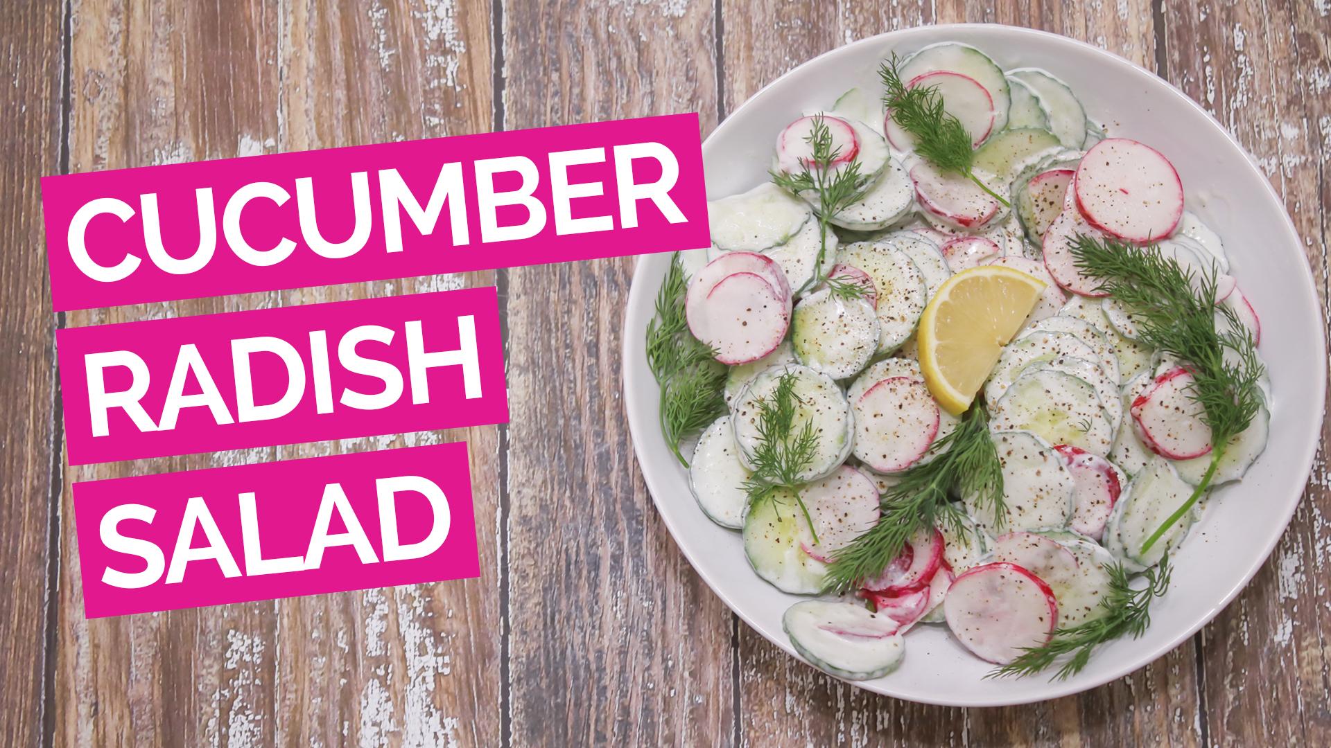 Cucumber Radish Salad_video_Pink