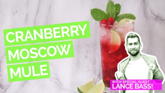 Cranberry & Jalapeno Moscow Mule with Lance Bass Video